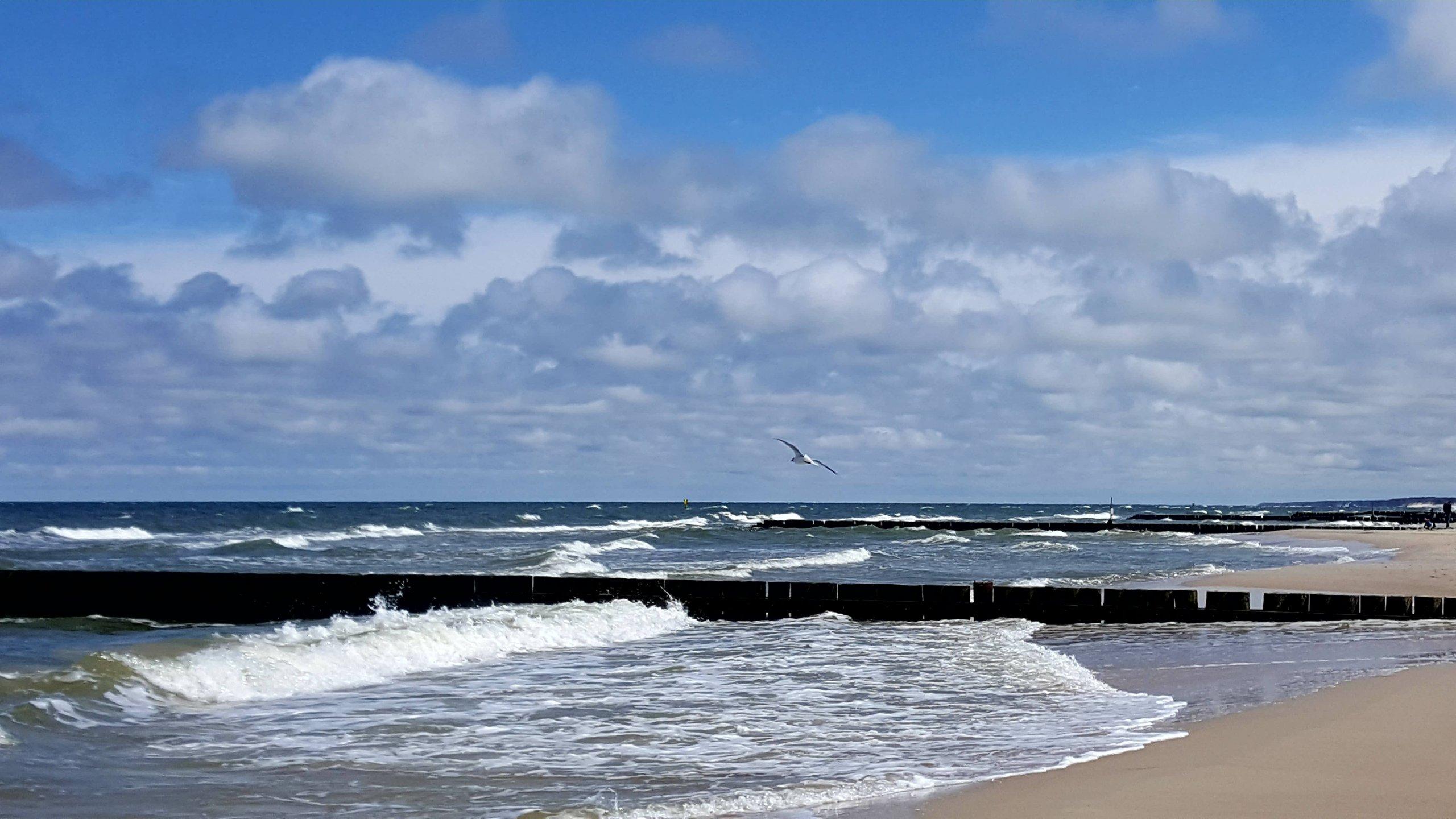 2,5 km od plaży